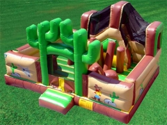 Desert Bounce House Slide