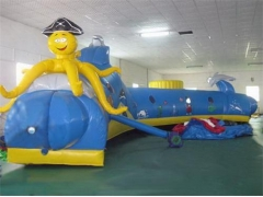 Inflatable Octopus Tunnel Maze