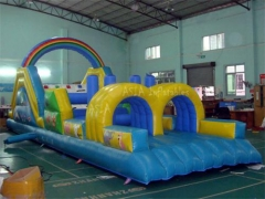 Rainbow Slide & Obstacle Combo