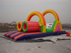 Princess Party Slide & Obstacle Combo
