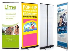 Pop-up Banners Stand
