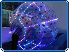 LED Lighting Zorb ball