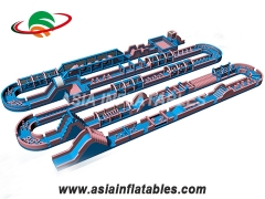 Adults sports obstacle course inflatable maze