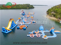 Largest Inflatable Water Park for Lake
