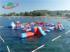 Inflatable Floating Aqua Park Supplies