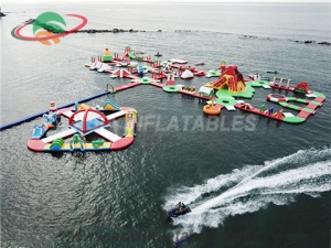 Inflatable Water Park for Beach Resort