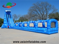 Blue Crush Inflatable Water Slide