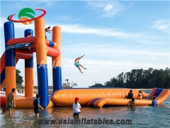 Floating Inflatable Water Jumping Tower