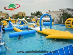 Stylish Inflatable Water Aqua Run Challenge Aqua Park