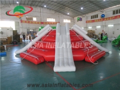 Inflatable Four Slide Splash