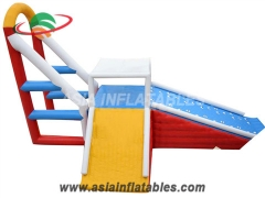 Inflatable High Jump Swing Jumping Tower