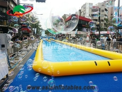 inflatable slide water city