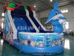 18 Foot Inflatable Shark Slide