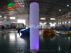 inflatable LED pillars tubes