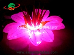 Colorful Lighting Inflatable Flower
