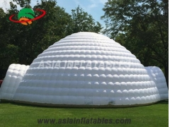Inflatable Dome Tent with Tunnel