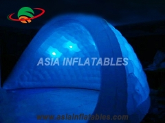 LED lighting inflatable tent