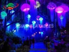 Beautiful LED Hanging Inflatable Jellyfish