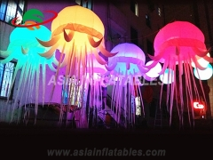 LED Decoration Inflatable Jellyfish Balloon