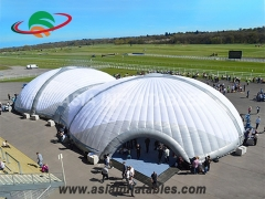 inflatable structure building tent