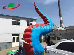 Led inflatable octopus tentacle