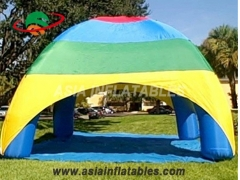 Unique Multicolor Inflatable Tent Protable Inflatable Car Shelter Sun Shelter Four Legs Spider Tent Event Tent