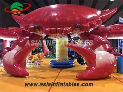 Decoration inflatable crab for event