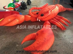 outdoor advertising giant inflatable lobster