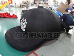 Inflatable Black Hat Model