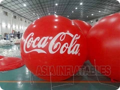 Inflatable Surfboards, Coca Cola Branded Balloon and Durable, Safe.