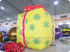 Inflatable Gift Box Helium Air Balloon