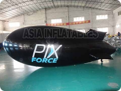 Advertising Inflatable Black Blimp