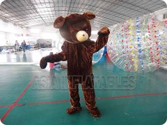 Bear mascot customes