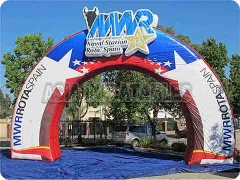 Advertising Inflatable Billboard Arch