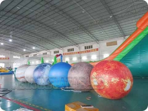 Inflatable Nine Planet Balloon