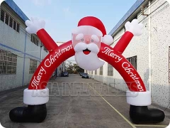 Inflatable Christmas Santa Claus Arch