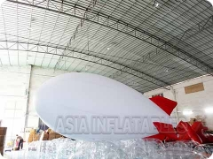 White Airship Balloon