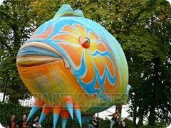Inflatable Fish Balloon