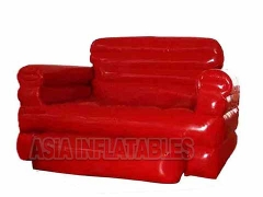 Red Color Inflatable Sofa