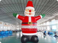Inflatables Waving Santa