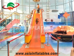 Inflatable escape slides