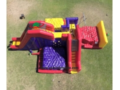 Inflatable Jungle Gym Interactive Game