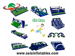 Strong Style Factory Direct Insane Inflatable Obstacle 5k Adult Extreme Sport Inflatable 5k Run For Sale and Wholesale Price