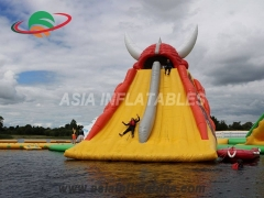 Giant Inflatable Rocket Slide