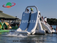 Stylish Multifunction Inflatable Big Water Slide for Water Park Sports Games