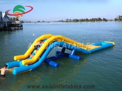 Best Inflatable Challenge Water Park Obstacle Course and wholesale price