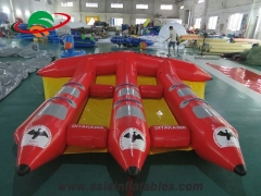 Inflatable flying flsh