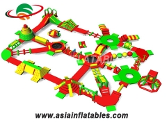 New Types Inflatable Floating Water Park Aqua Park Water Toys and Wholesale Price