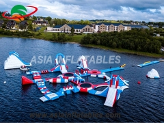 Giant Water Aqua Park Floating Water Park Inflatables. Top Quality, 3 Years Warranty.