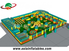 Inflatable World Indoor Playground Theme Parks Inflatable Theme Park Manufacturers